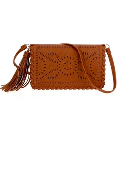 joseph d'arezzo Laser-Cut Clutch/crossbody Bag - Product List Image