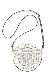 Mud Pie Laser Cut Crossbody - Front cropped