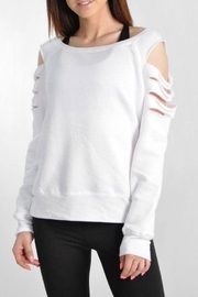 Jala Clothing Laser Cut Sweatshirt - Product Mini Image