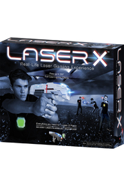 Toysmith Laser X Single Blaster - Front cropped