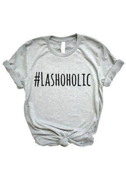 Matty and Lux #Lashaholic Tee - Product Mini Image