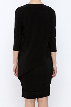Last Tango 3/4 Sleeve Asymmetrical Dress - Alternate List Image