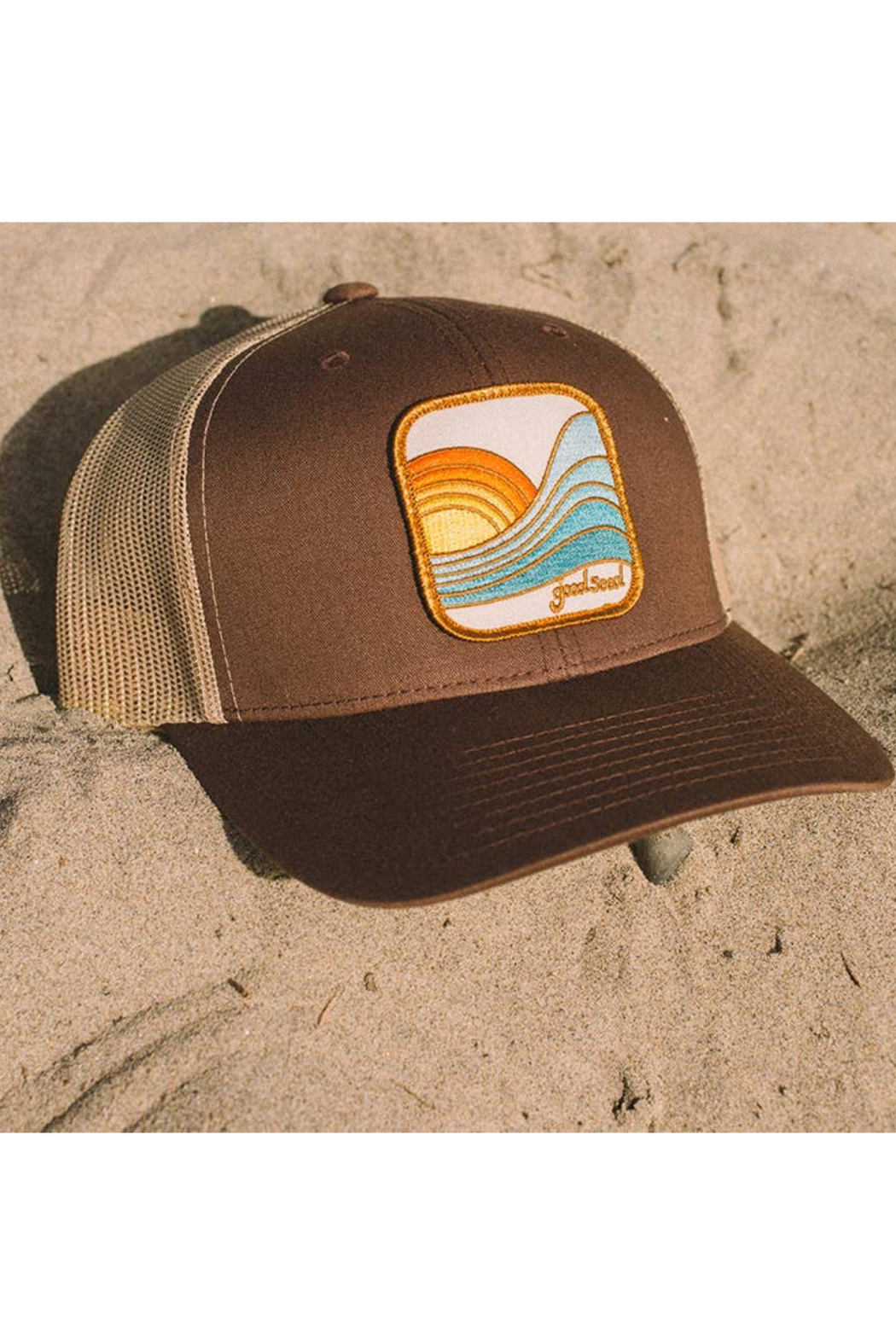 Goodseed Clothing Last Wave Trucker Hat - Side Cropped Image