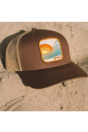 Goodseed Clothing Last Wave Trucker Hat - Side cropped