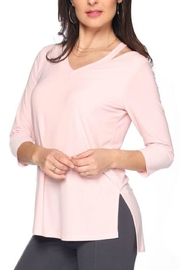 Last Tango 3/4sleeve Cutout Top - Product Mini Image
