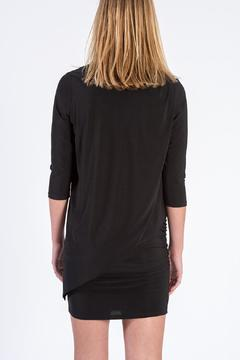 Shoptiques Product: Black V-Neck Dress