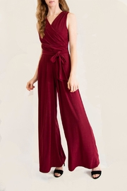 Last Tango Burgundy Jumpsuit - Product Mini Image