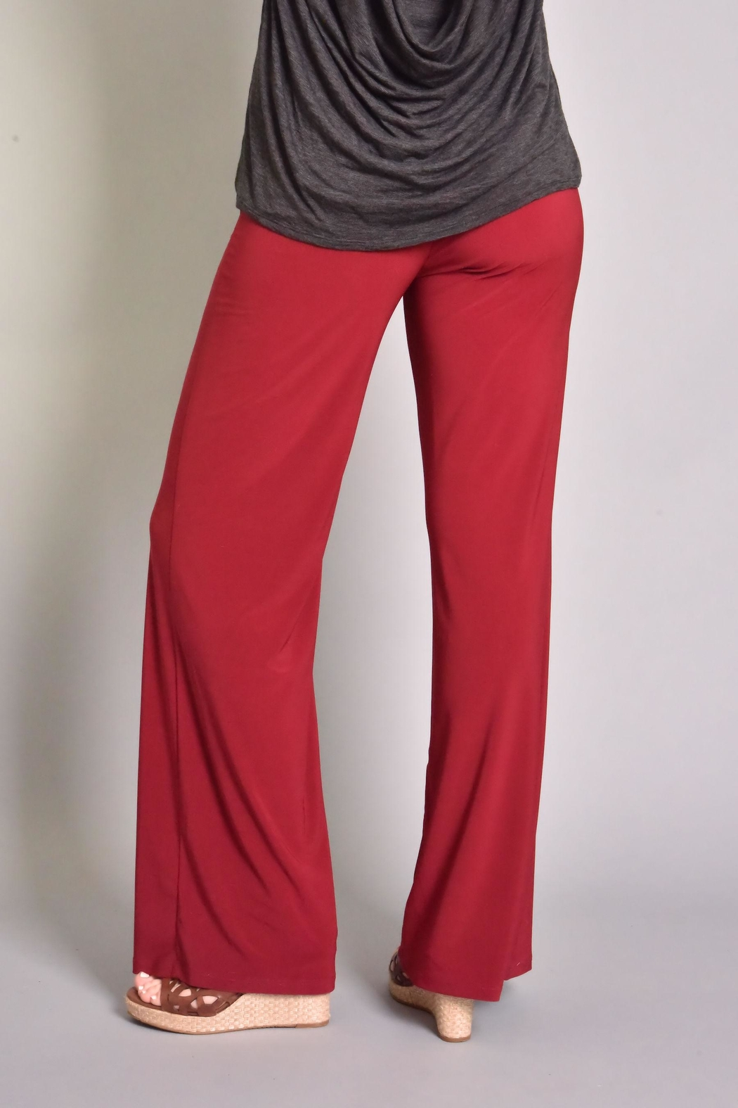 Last Tango Front Slit Pant - Side Cropped Image