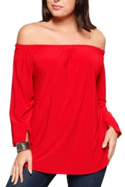 Last Tango Offshoulder Peasant Top - Product Mini Image