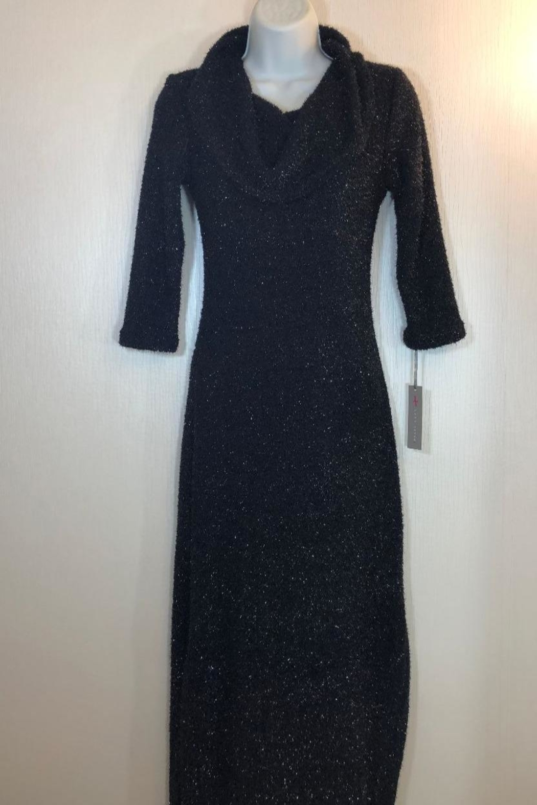Last Tango Sparkle Maxi Dress - Front Cropped Image