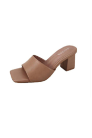 Bamboo Lasting-01 Mule Slide - Front cropped