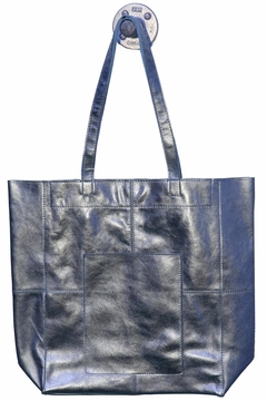 Latico Leathers Amelia Metallic-Leather Tote - Alternate List Image