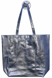 Latico Leathers Amelia Metallic-Leather Tote - Product Mini Image