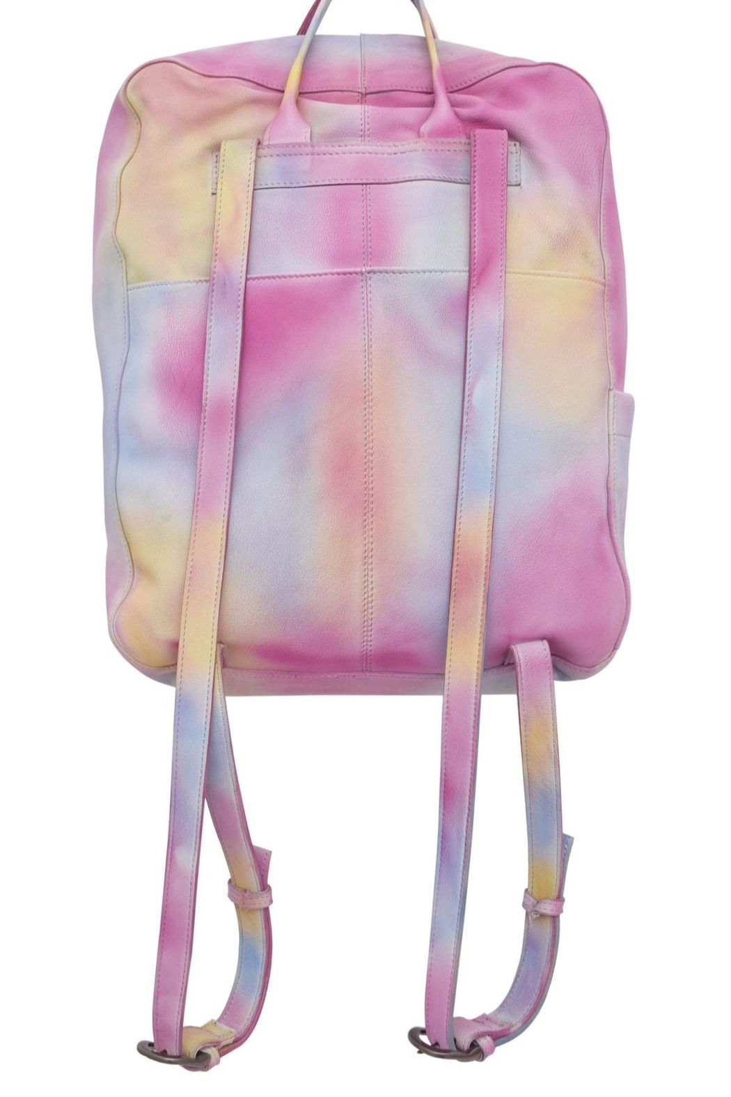 Latico Leathers Fillmore Tie-Dye Backpack - Front Full Image