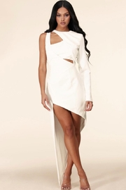 Latiste Asymmetrical Cut-Out Dress - Product Mini Image