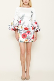 Latiste Bell Sleeve Dress - Product Mini Image