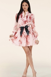Latiste Belted Floral Dress - Product Mini Image