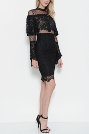 Latiste Black Crochet Dress - Product Mini Image