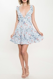 Latiste Blue Floral Dress - Product Mini Image