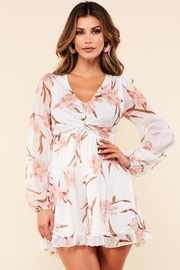 Latiste Blush Iris Romper - Product Mini Image