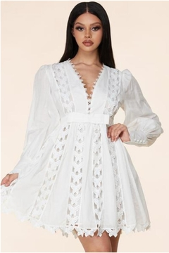 Latiste Butterfly Lace Dress - Product List Image
