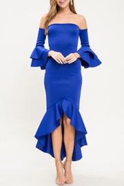 Latiste Cold Shoulder Dress - Product Mini Image
