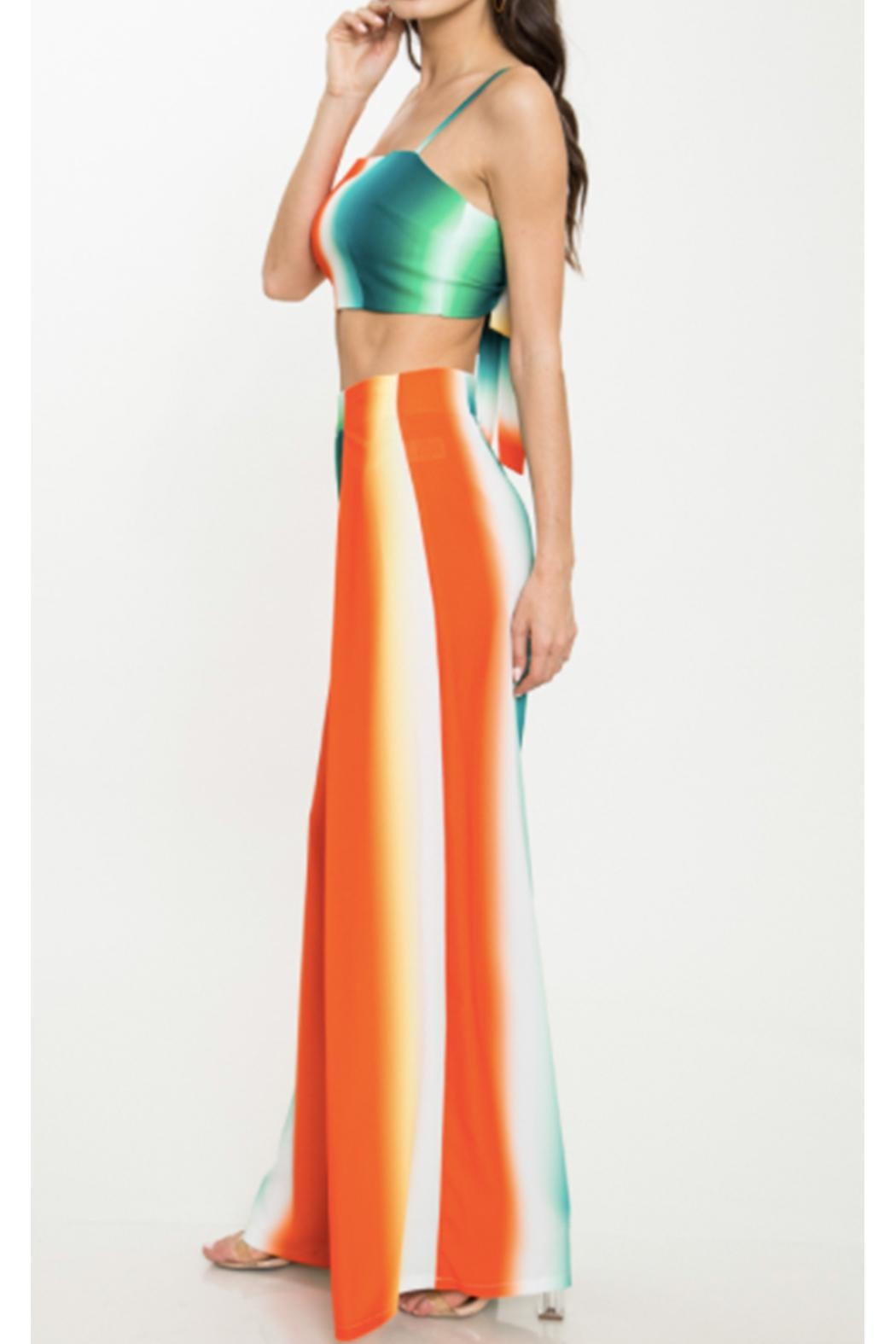 Latiste Colorful Two Piece - Side Cropped Image