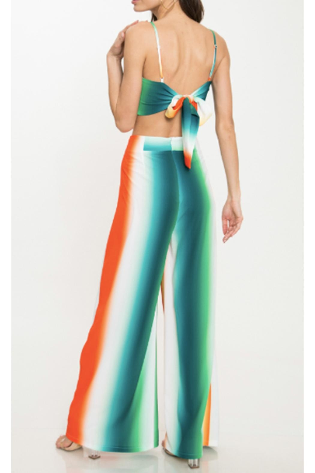 Latiste Colorful Two Piece - Back Cropped Image
