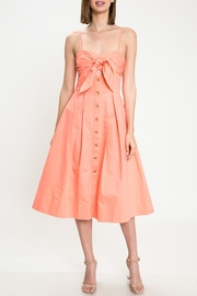 Latiste Coral Bow Dress - Product Mini Image