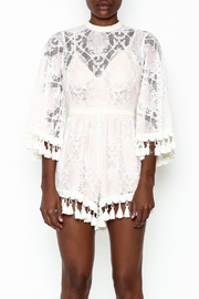 Latiste Crochet Romper - Front full body