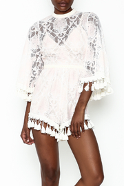 Latiste Crochet Romper - Product Mini Image
