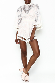 Latiste Crochet Romper - Side cropped