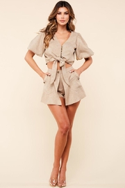 Latiste Earthy Brown Shorts-Set - Product Mini Image