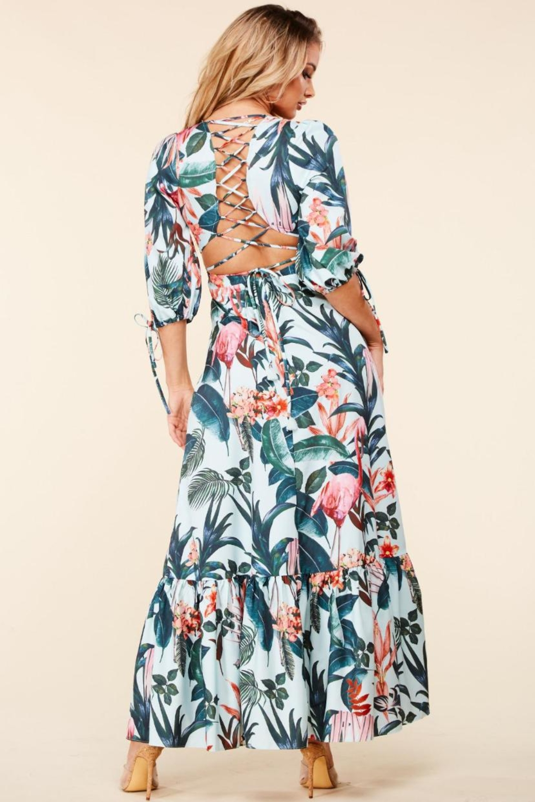 Latiste Emerald Tropical Maxi - Front Full Image