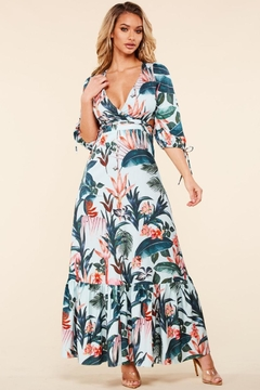 Latiste Emerald Tropical Maxi - Product List Image