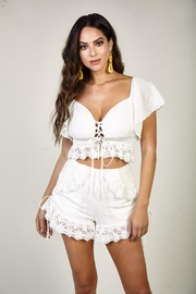 Latiste Eyelet Shorts Set - Product Mini Image