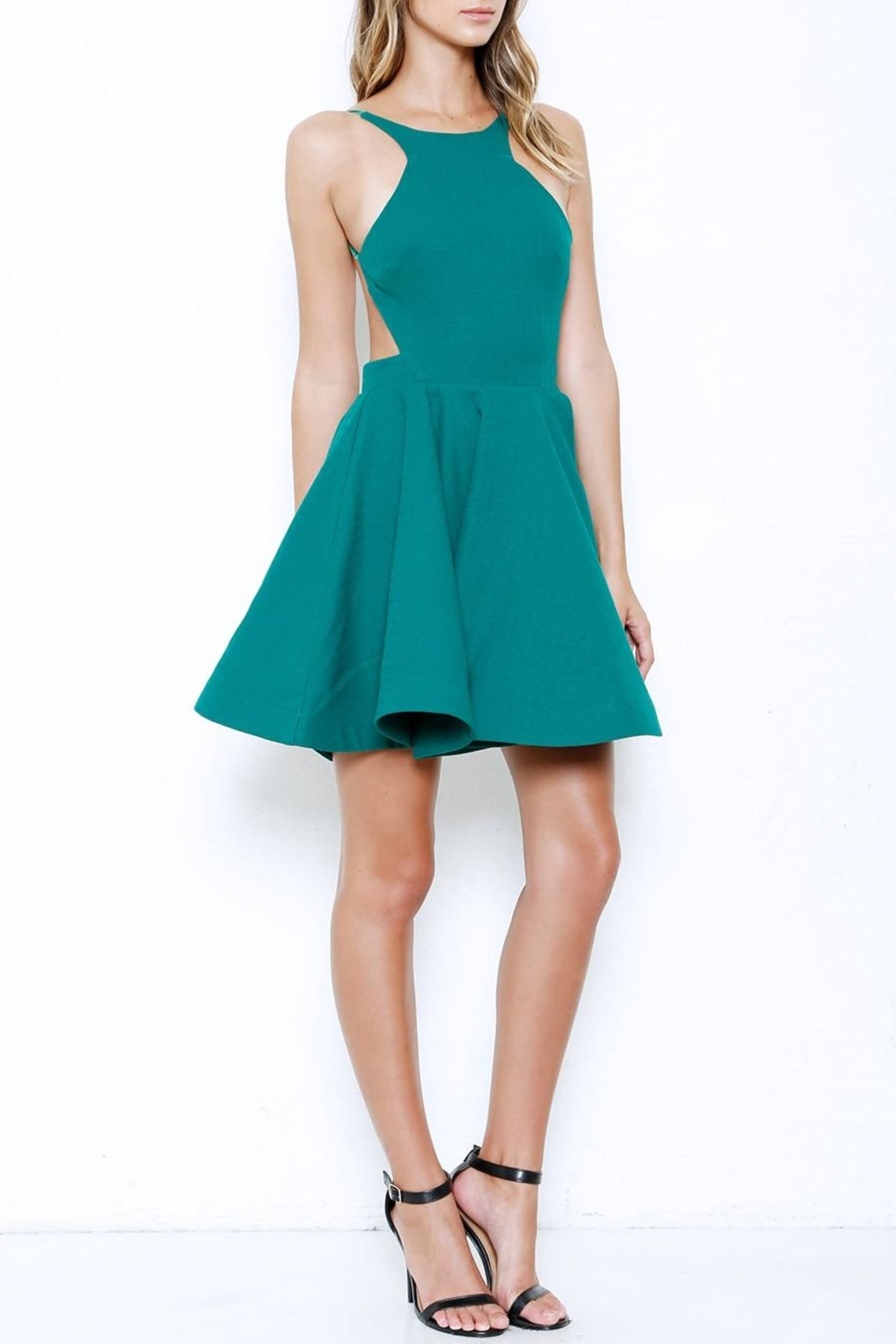 Latiste Flare Backless Dress - Main Image