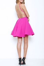 Latiste Flare Backless Dress - Side cropped