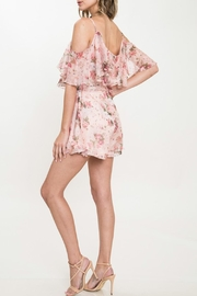 Latiste Floral 3-d Romper - Side cropped