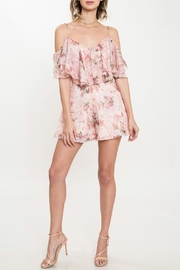 Latiste Floral 3-d Romper - Product Mini Image