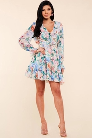 Latiste Floral Garden Dress - Product Mini Image