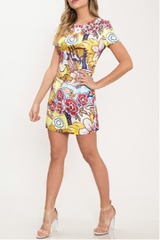 Latiste Floral Mini Dress - Front full body