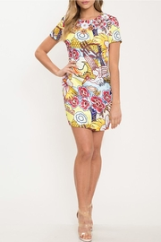 Latiste Floral Mini Dress - Front cropped