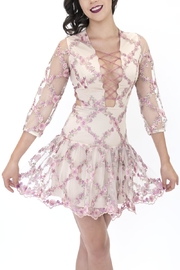 L'atiste Floral Dress - Front cropped