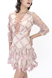 L'atiste Floral Dress - Front full body
