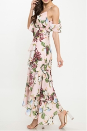 Latiste Floral Ruffle Dress - Side cropped