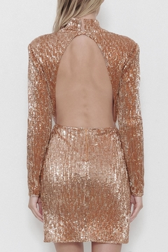 Latiste Gold Sequin Dress - Alternate List Image
