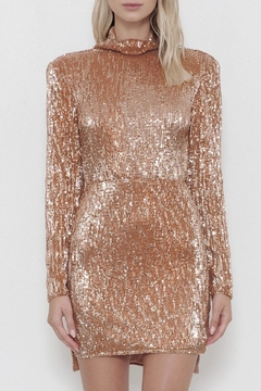 Shoptiques Product: Gold Sequin Dress