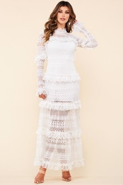 Latiste Lace Maxi Dress - Front cropped
