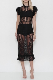 Latiste Lace Midi Dress - Front cropped
